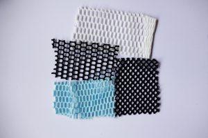 Holed fabrics